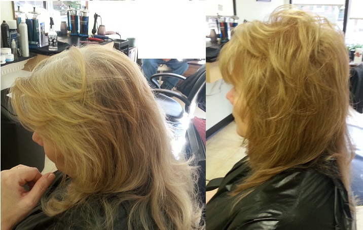 Before Afters Great Lengths Salon Boyertown Hair Salon Spa