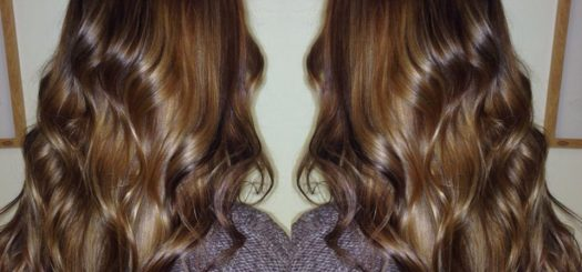 Full head of Balayage and Lowlights
